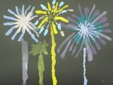 1年生 図工 「打ち上げ花火」