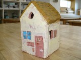 図工 『粘土の家』