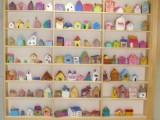 4年生図工 粘土の家