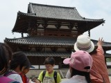 2013年度 修学旅行2日目 法隆寺