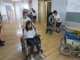 4年 車椅子体験