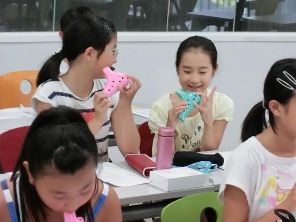 湘南学園小学校 » Blog Archive » オカリナの音色