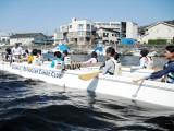 8月7日(金) 海のアフタースクール③『はじめてのアウトリガーカヌー』