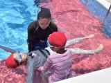 水辺の安全教室&着衣泳