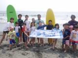 【海のスペシャルプログラム】はじめてのサーフィン!第1回