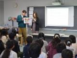社会科特別授業「憲法の話」 講師 弁護士 武井由起子先生