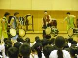 PTA教育文化事業「世界一の太鼓演奏」