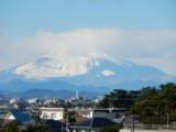 キラキラの富士山 ~雪景色~