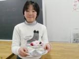 【スペシャル】プリザーブドフラワー☆バレンタインケーキ風(おやつメニュー)
