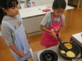 【料理 高学年】リコッタチーズのパンケーキを作ろう♪ (おやつメニュー)