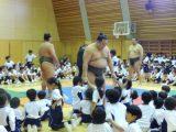 大相撲 学校訪問 ~相撲体験から学ぶ~