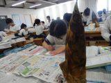 タケノコをかこう ~絵手紙風 3年生~