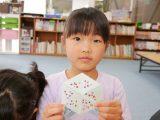 【おあずかり】1年生取組み 6角形パズルカード(おやつメニュー)