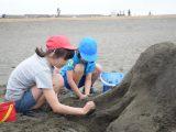 砂の造形(ゆめに見た乗り物)