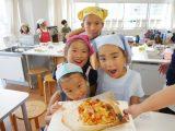 【お預かりイベント】昼食の「ピザ」作り
