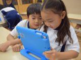1年生 iPad&ドッジボール