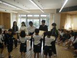 6年生を送る会(なかよし班)