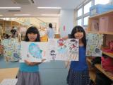 【預かり】放課後NPO10周年記念クリアファイルにみんなの絵が採用されました♪
