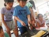 【お預かり】ビッグな卵焼きを作って食べよう!