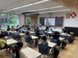 教室での授業が始まりました