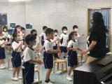 1年 音楽の授業