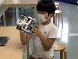 【定期プログラム】ロボットプログラムの様子 (おやつメニュー)