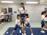【定期プログラム】チアリーディング(おやつメニュー)