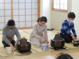 【定期プログラム】 茶道🍵 最後のお披露目