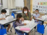 【定期プログラム】1年生も英語プログラムスタート!!(おやつメニュー)