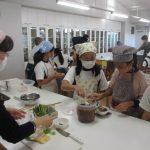 第143回 活気あふれる調理実習と食育